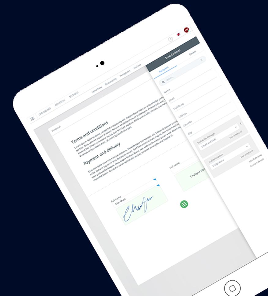 Premium eSigning & Contract Management