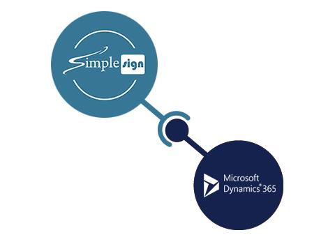Microsoft dynamics Logo SimpleSign