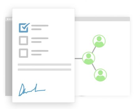 Signatures with multiple recipients